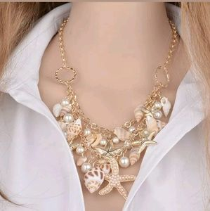 Jewelry - 🐚🐚hot sale!!! summer necklace🐚🐚
